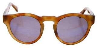 Westward Leaning Westward\\Leaning Round Mirrored Sunglasses