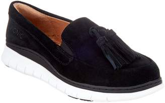 Vionic Suede Slip-On Shoes with Tassels - Quinn