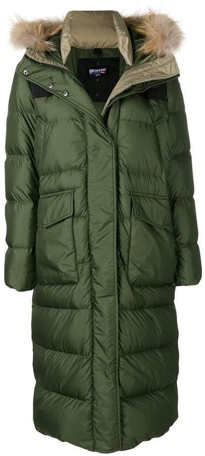 padded parka coat