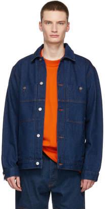 Etudes Indigo Denim Guest Jacket