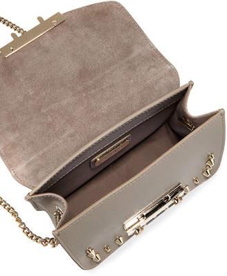 Furla Julia Mini Studded Leather Crossbody Bag