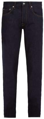 Stone Island Slim Leg Denim Jeans - Mens - Navy