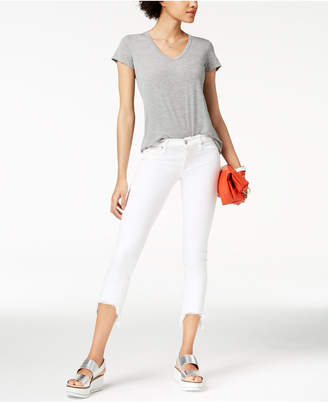 Hudson Cropped Skinny Jeans