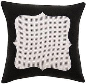 DwellStudio Framed Pindot Pillow