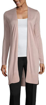 WORTHINGTON Worthington Long Sleeve Duster Cardigan - Tall