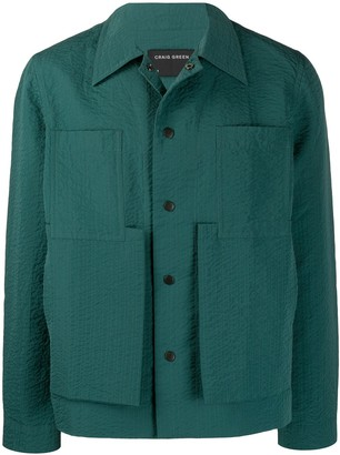 Craig Green deconstructed pocket shirt jacket