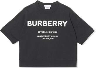 Burberry Horseferry Print Cotton T-shirt