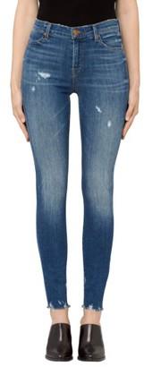Women's J Brand Maria High Waist Skinny Jeans $248 thestylecure.com