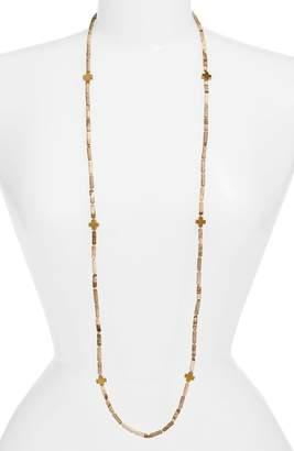 Love's Affect Even Semiprecious Stone Necklace