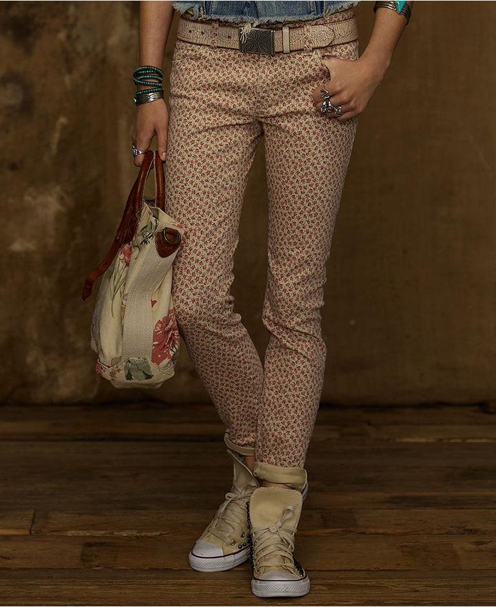 Denim & Supply Ralph Lauren Jeans, Skinny, Garden Floral Wash