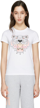 Kenzo White Tiger T-Shirt $110 thestylecure.com