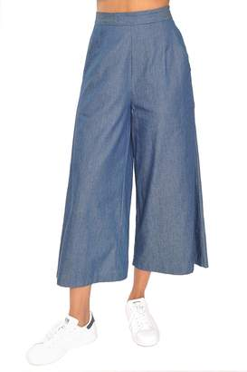 Tylho Chambray Culotte Pants