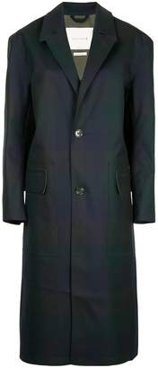 MACKINTOSH Blockcheck coat