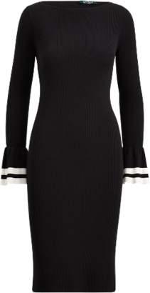 at Ralph Lauren · Ralph Lauren Ruffle-Cuff Sweater Dress