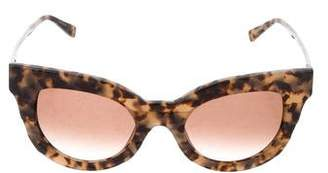 Kate Young x Tura Tinted Lens Sunglasses