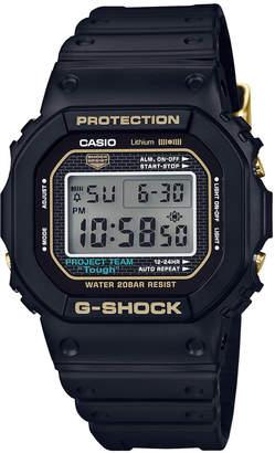 G-Shock Men's Analog-Digital 35th Anniversary Edition Black Resin Strap Watch 42.8mm