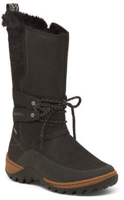 Cold Weather Leather Boots
