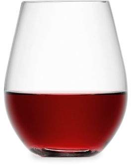 Stemless Red Wine Glasses/Set of 4