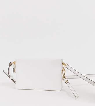 Accessorize Sheraton white cross body bag