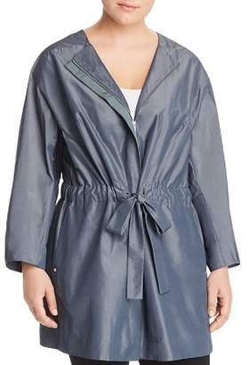 Lafayette 148 New York Plus Stephania Metallic Drawstring Jacket