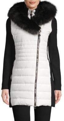 Calvin Klein Faux Fur-Trimmed Hooded Jacket