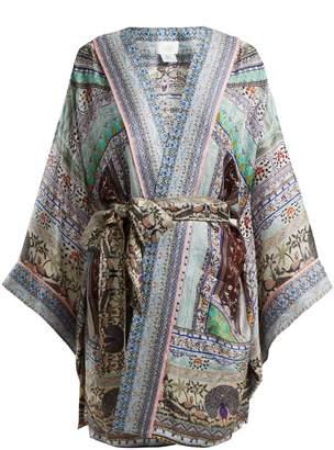 Camilla The King And I tie-waist kimono