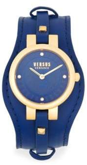 Versus By Versace Berlin Stainless Steel Two-Tone Strap Watch