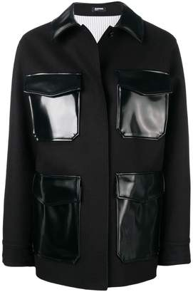 Jil Sander Navy contrast pockets jacket