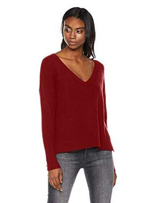 Native Star Sexy and Magic Women's Rayon/Polyester/Nylon Deep V-Neck Pullover Sweater