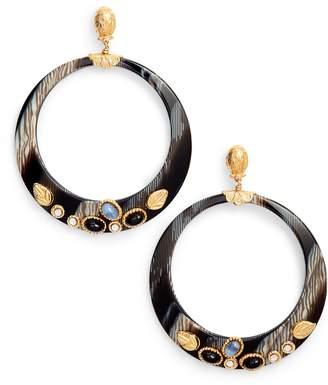 Gas Bijoux Lodge Hoop Earrings