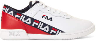 Fila Black Original Fitness Embroidered Low-Top Sneakers