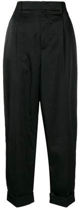 Prada high-waisted trousers