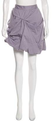 RED Valentino Draped Mini Skirt w/ Tags