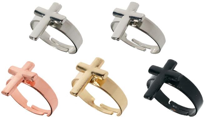Asos Cross Band Rings