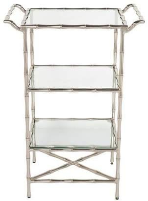 Metal & Glass Side Table