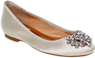 Badgley Mischka Bianca Embellished Ballet Flats