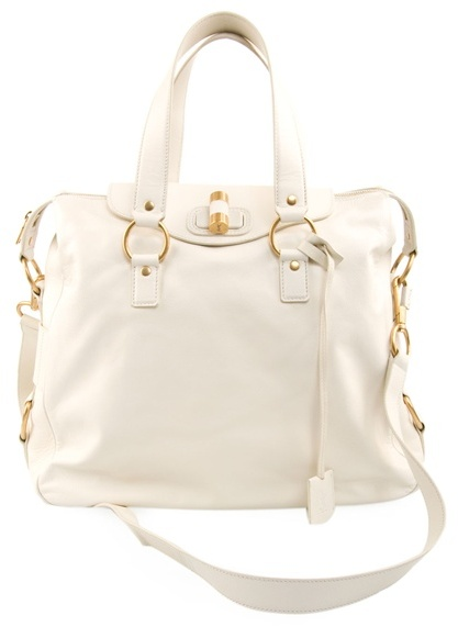 YVES SAINT LAURENT - Rive gauche leather shoulder bag