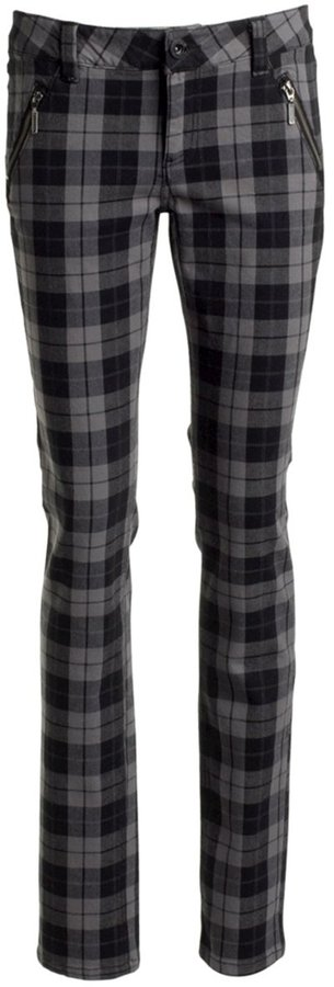 La Redoute ELLOS Checked Trousers, Inside Leg 82 cm