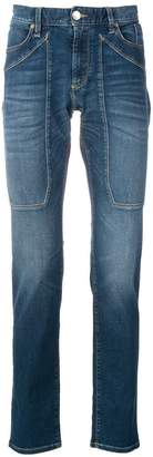 Jeckerson panelled slim fit jeans