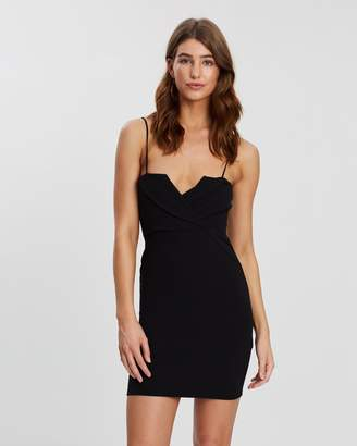 Missguided Fold Over Strappy Bodycon Dress