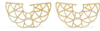 Amrapali Zardozi 18-karat Gold Diamond Earrings