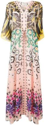 Temperley London Beaumont Claudette kaftan dress