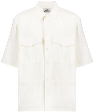 Vivienne Westwood contrast stitching shirt