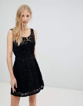 Deby Debo Relice Velvet Burnout Dress