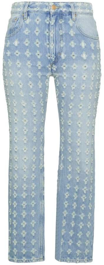 'Corliff' Jeans in Distressed-Optik
