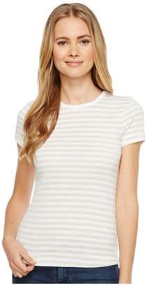 Three Dots Stripe Kennedy Crew Neck Women's Clothing