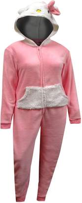 Hello Kitty One Piece Hooded Pajama for Women