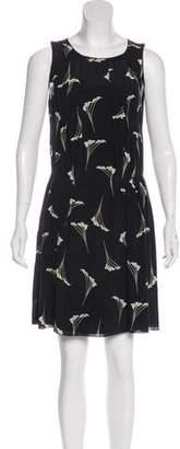 Nina Ricci Silk Knee-Length Dress