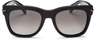 Rag & Bone Men's Iconic Classic Polarized Square Sunglasses, 55mm
