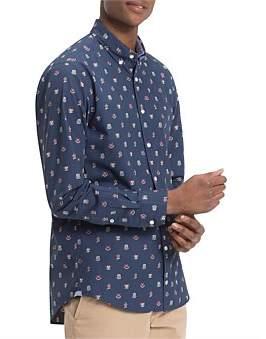 Tommy Hilfiger Allover Crest Shirt